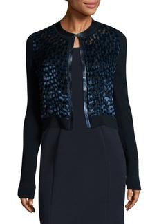 Elie Tahari Alena Merino Wool Sweater