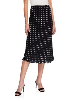 Elie Tahari Alex Dotted Skirt
