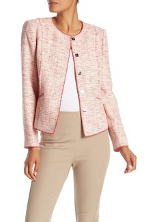 Elie Tahari Alianna Tweed Jacket