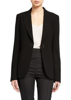 Elie Tahari Alice Crepe Jacket