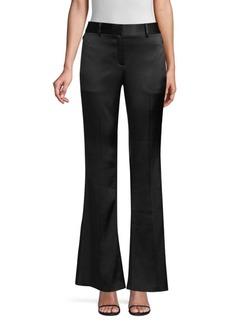 Elie Tahari Anna Satin Crepe Trousers