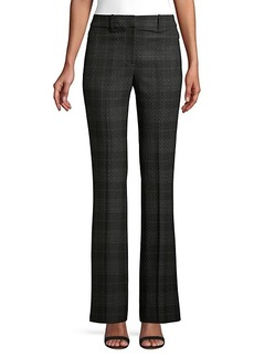 Elie Tahari Anna Shadow Plaid Pants