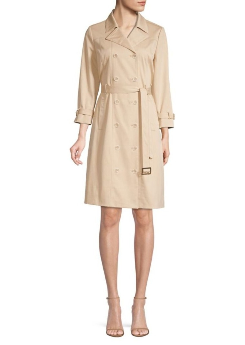 Elie Tahari Ari Trench Dress