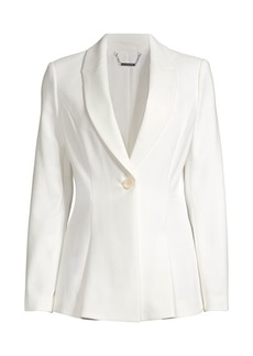 Elie Tahari Arya Single-Button Jacket