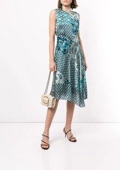 Elie Tahari Azure multi-print dress
