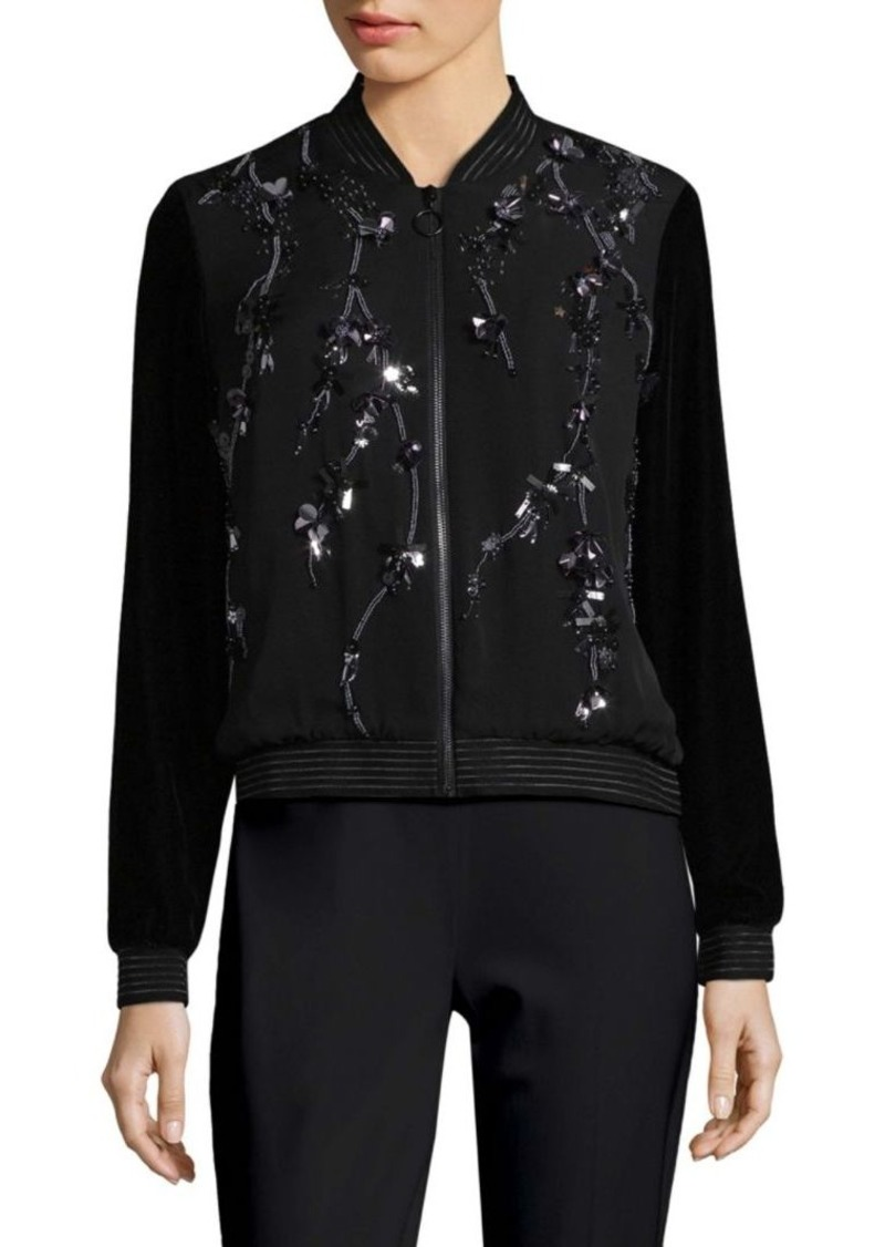 Elie Tahari Brandy Silk Jacket