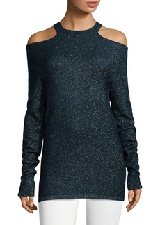 Elie Tahari Brodly Cold-Shoulder Sweater