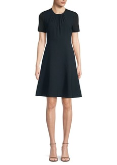 Elie Tahari Caliana A-Line Cocktail Dress