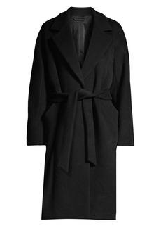 Elie Tahari Calissi Double Face Wool-Blend Wrap Coat