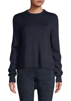 Elie Tahari Calla Merino Wool High-Low Sweater