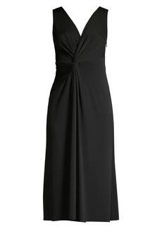 Elie Tahari Camile Jersey Midi Dress