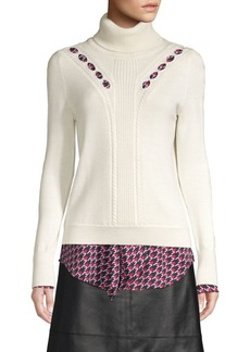 Elie Tahari Carmele Turtleneck Sweater