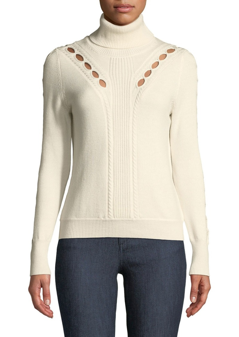 197d081ccbd6c Elie Tahari Carmelo Turtleneck Sweater