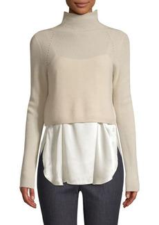 Elie Tahari Casper Cashmere Two-Piece Sweater