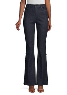 Elie Tahari Cassondra Flared Jeans