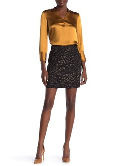 Elie Tahari Cici Sequin Mini Skirt