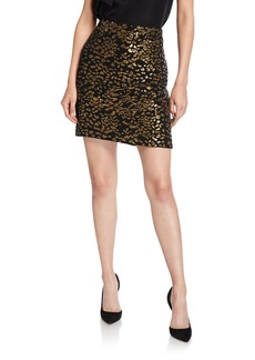 Elie Tahari Cici Sequined Mini Skirt