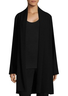 Elie Tahari Coley Open Front Coat