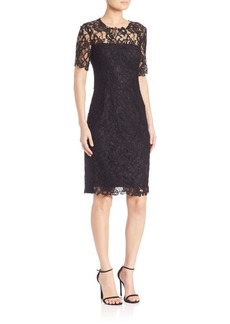 Elie Tahari Crochet Lace Bellamy Dress