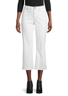 Elie Tahari Cropped Jeans