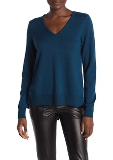 Elie Tahari Deangelo Wool Silk Sweater