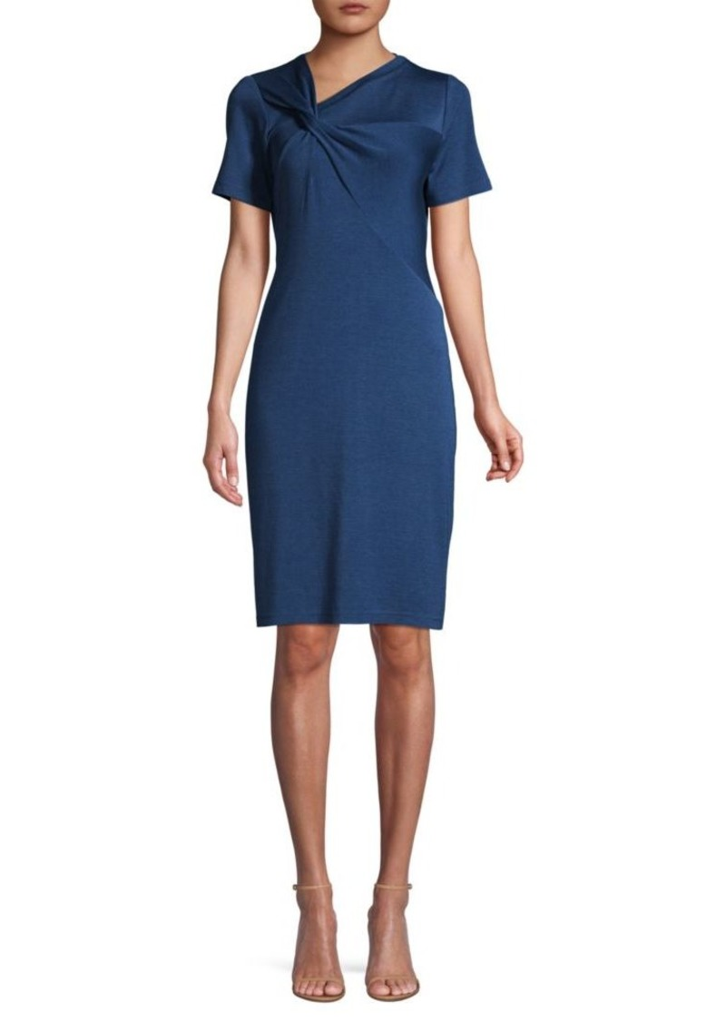 Elie Tahari Deidra Ruched Sheath Dress