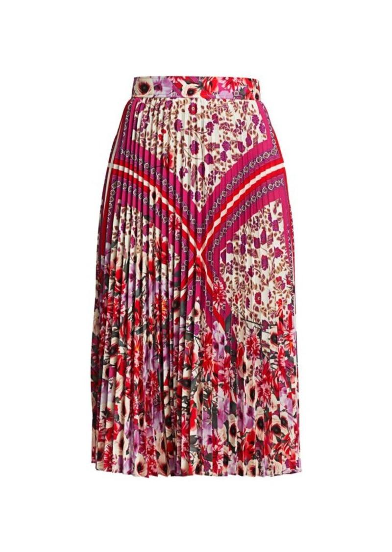 Elie Tahari Delilah Floral Paisley Skirt