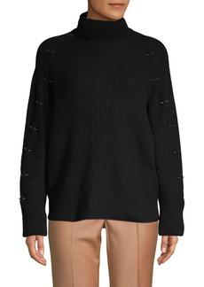 Elie Tahari Easton Merino Wool-Blend Sweater