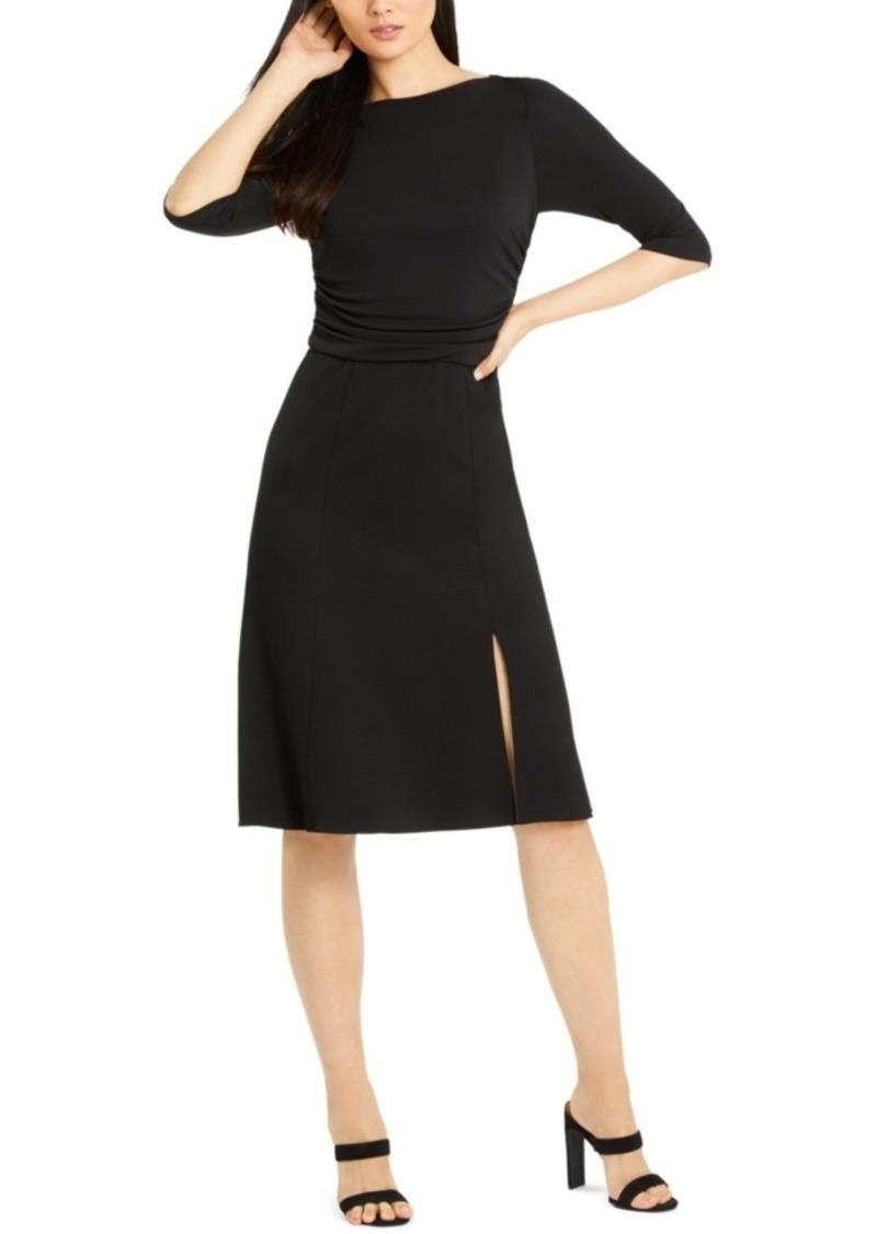 Elie Tahari 3/4-Sleeve Azalea Dress