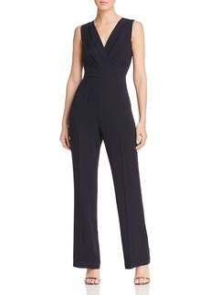 Elie Tahari Adaline Sleeveless V-Neck Jumpsuit