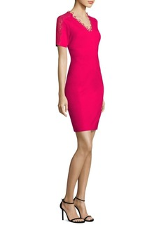 Elie Tahari Ainsley Short Sleeved Sheath Dress