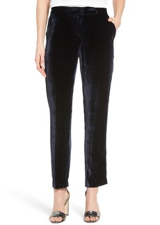 Elie Tahari 'Alanis' High Sheen Ankle Pants