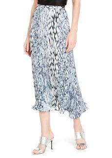 Elie Tahari Alex Printed Midi Skirt