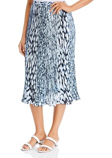 Elie Tahari Alex Printed Skirt