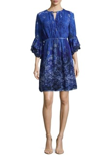 Elie Tahari Amber Floral Dress