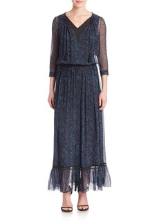 Elie Tahari Amber Silk Dress