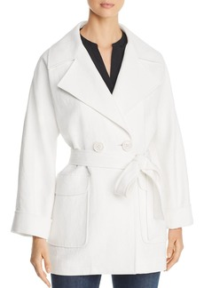Elie Tahari Amelie Double-Breasted Jacket