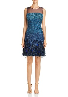 Elie Tahari Anabelle Embellished Dress - 100% Exclusive