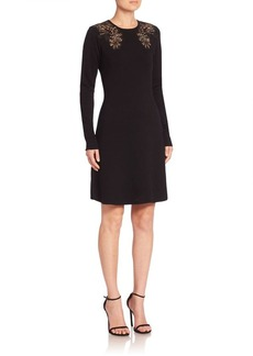 Elie Tahari Angelica Merino Wool Sweater Dress