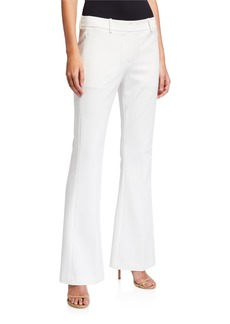 Elie Tahari Anna Boot-Cut Pants