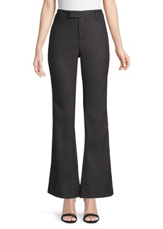 Elie Tahari Anna Side Striped Brushed Wool Pants