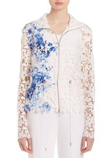 Elie Tahari Ansel Floral Jacket