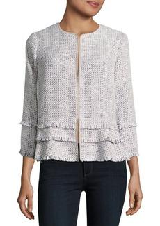 Elie Tahari Antique Madeline Tweed Jacket