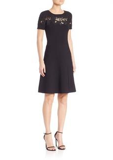 Elie Tahari Arley Short Sleeve Dress