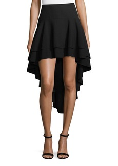 Elie Tahari Aubree High-Low Skirt