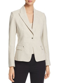 Elie Tahari Ava Notch Lapel Jacket