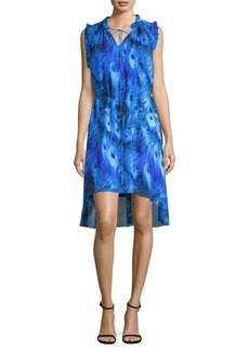 Balere Silk Peacock Dress