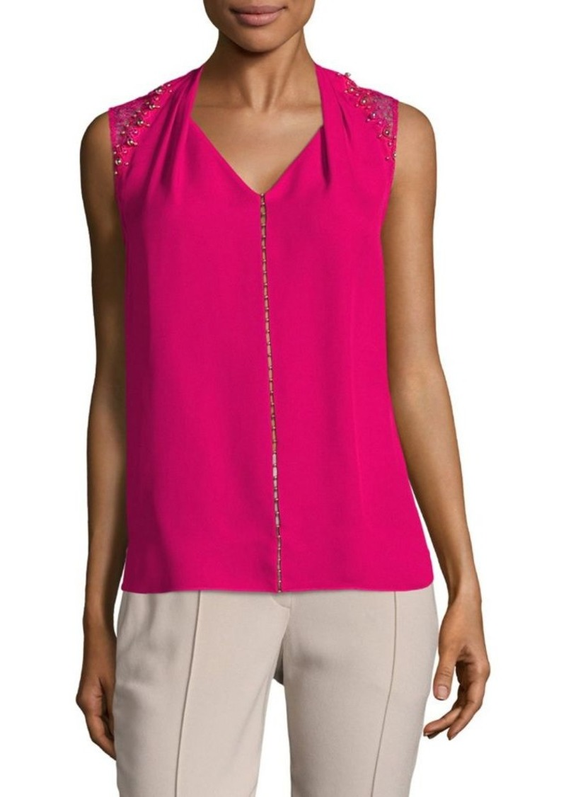 83471eb3a463f On Sale today! Elie Tahari Elie Tahari Barbara Sleeveless Silk Blouse