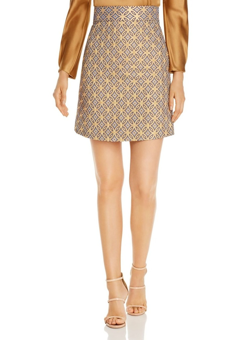 Elie Tahari Barbie Printed Skirt