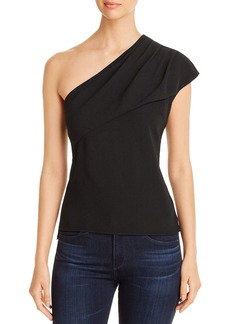 Elie Tahari Bela One-Shoulder Top